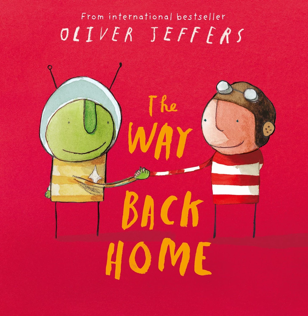 Children drama events in Singapore - The Way Back Home by Oliver Jeffers