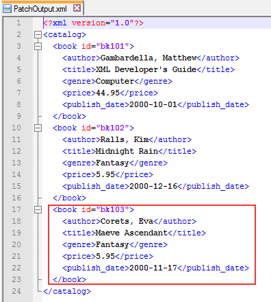 Uma's Blog :::: How to use Diff and Patch in XML Task in