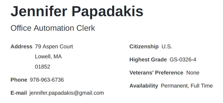 "Картинки по запросу ""federal resume"""