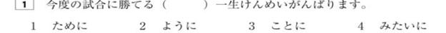 bài tập ngữ pháp n3