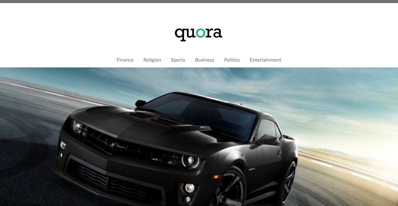 Quora WordPress Theme