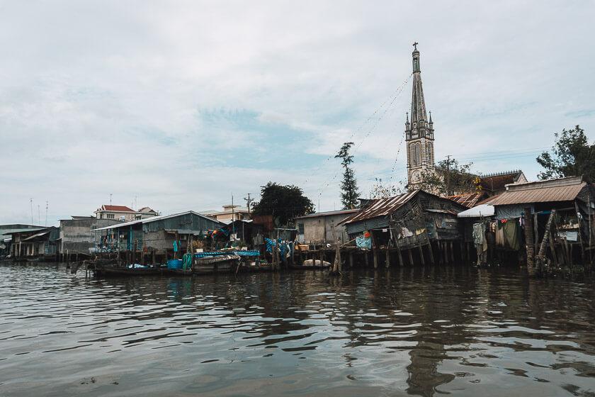 Mekong River in Vietnam.