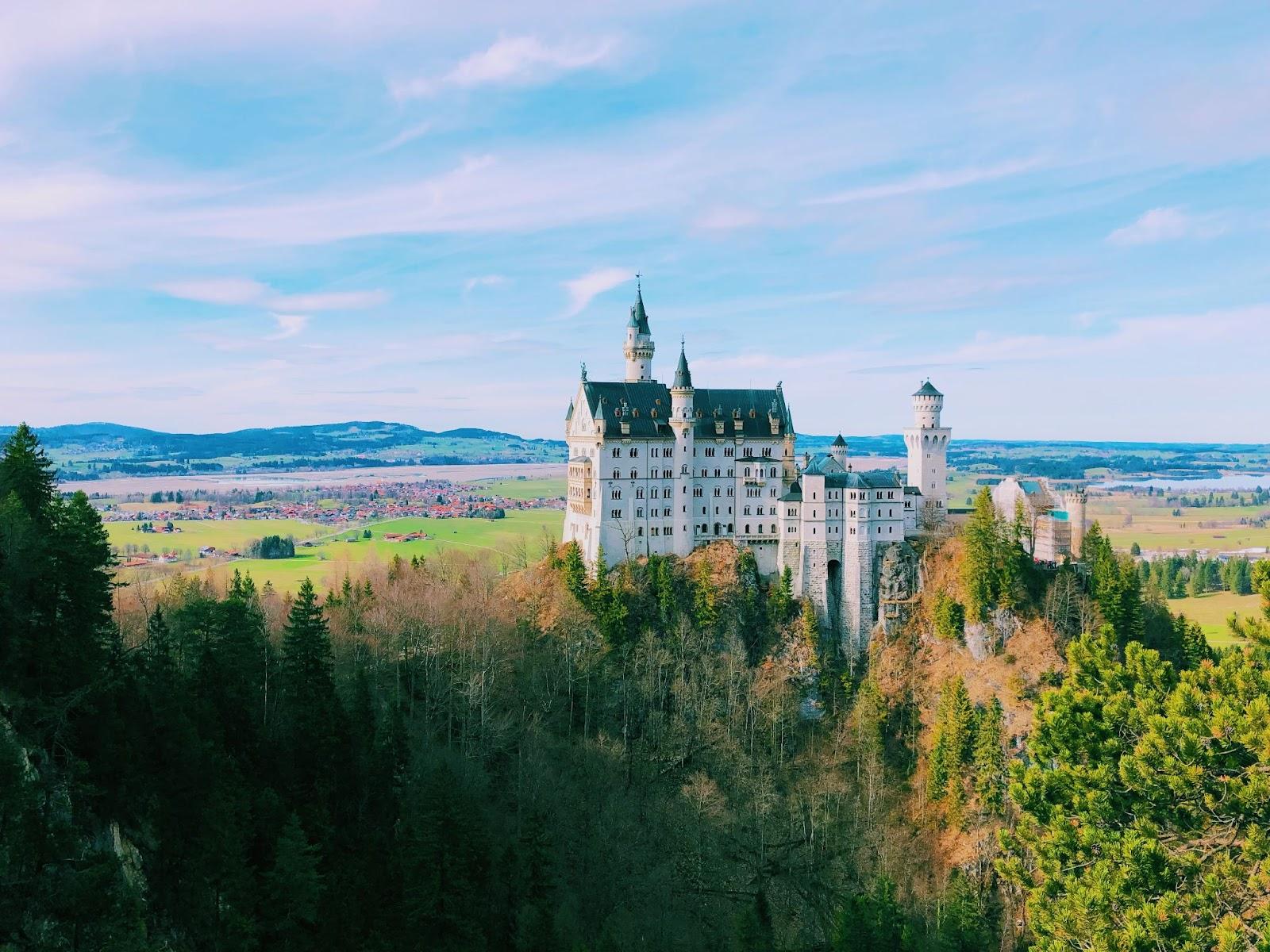 Schwerin Castle North Germany road trip Campspace