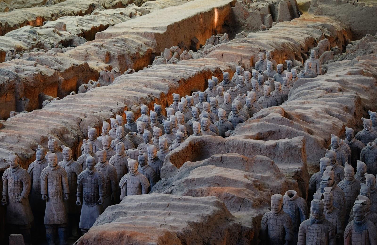 The Terracotta Army   Source: unsplash.com