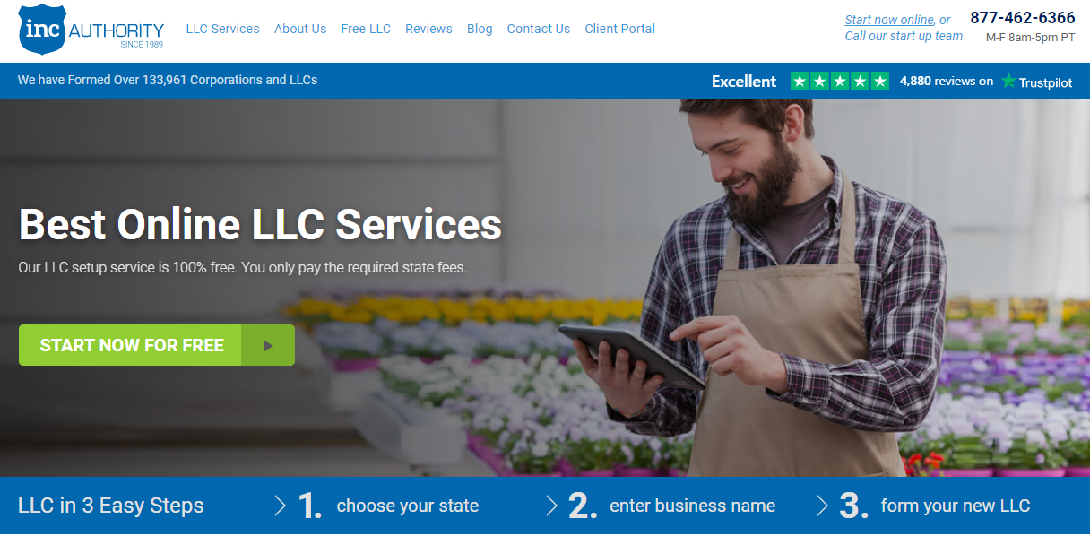Inc Authority homepage image