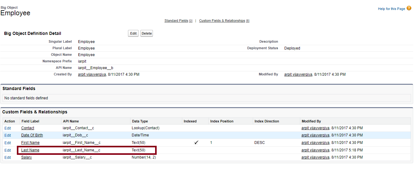 Big Object - Bring Big Data In Salesforce - iBirds Services