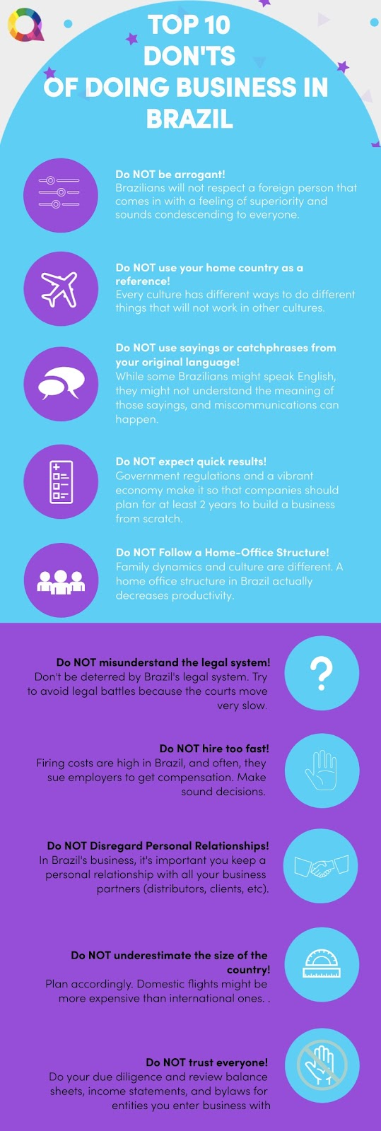 Top 10 Don'ts of Doing Business in Brazil