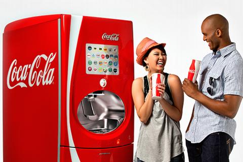 первые автоматы с кока-колой