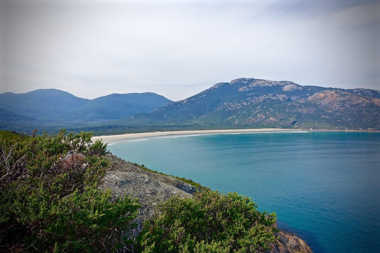 wilsons promontory national park sand beach turquoise ocean australia