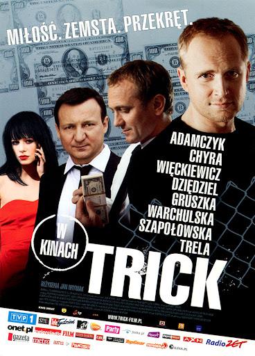 Przód ulotki filmu 'Trick'