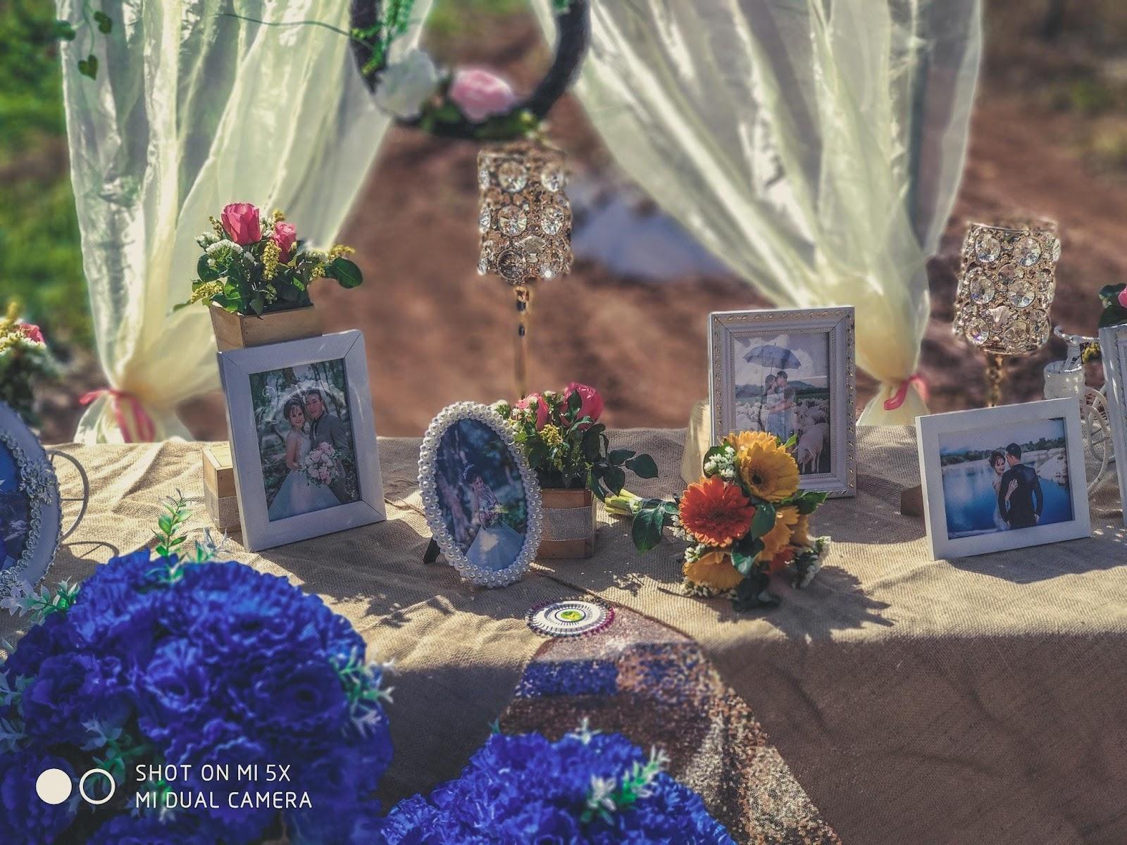 zdjęcia ślubne w ramkach