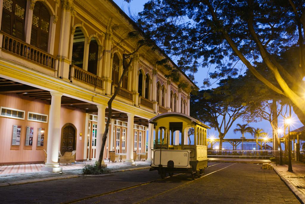Casa Julian gourmet restaurant's exterior in Guayaquil