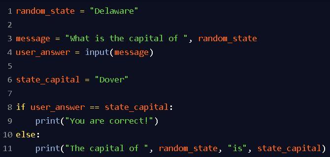 Python string comparison
