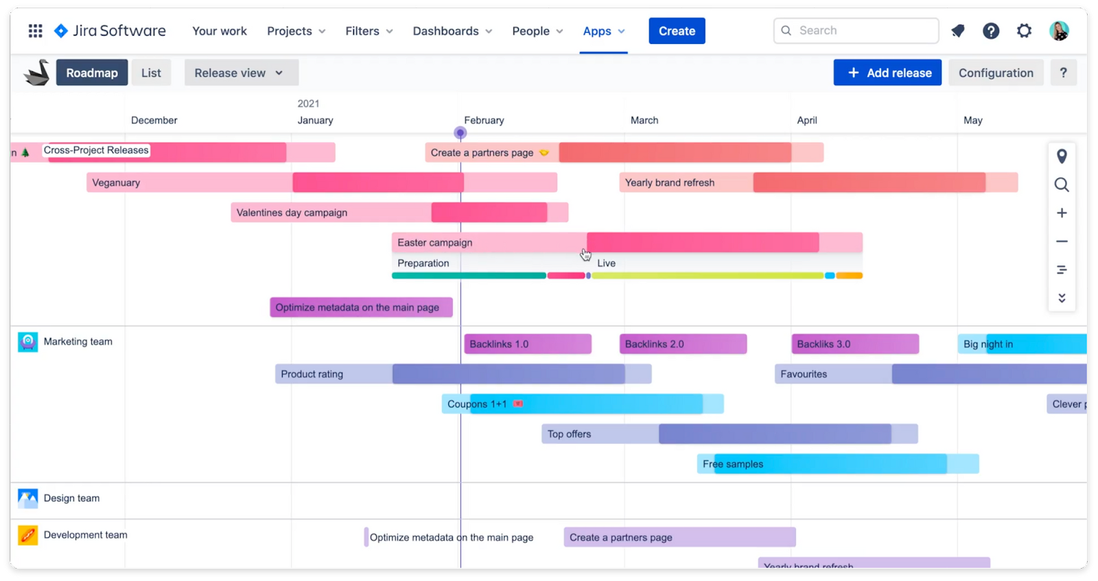 Swanly - PPM and product roadmap for Jira