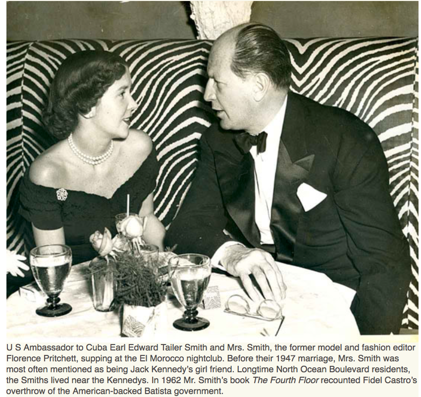 Karen Klopp & Hilary Dick article for New York Social Diary on what to wear to the Preservation Foundation of Palm Beach Gala.  Florence Pritchett ,US Ambassador Earl Edward Tayler Smith