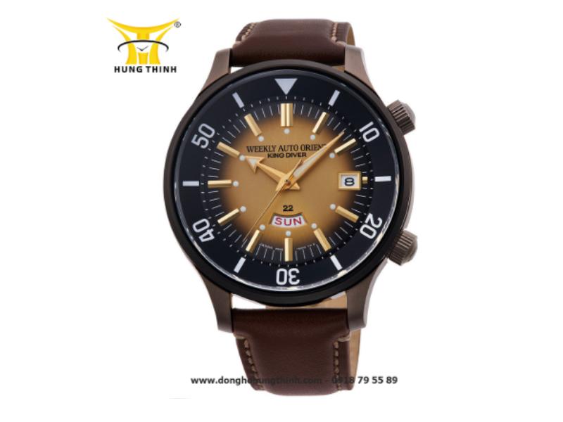 Chiếc đồng hồ Orient Automatic dây da phiên bản giới hạn này sở hữu cấu tạo phức tạp, đòi hỏi sự cẩn thận, am hiểu của người dùng (Chi tiết sản phẩm tại đây)