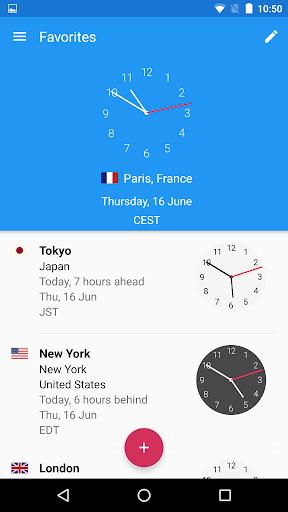 World Clock by timeanddate.com- screenshot thumbnail