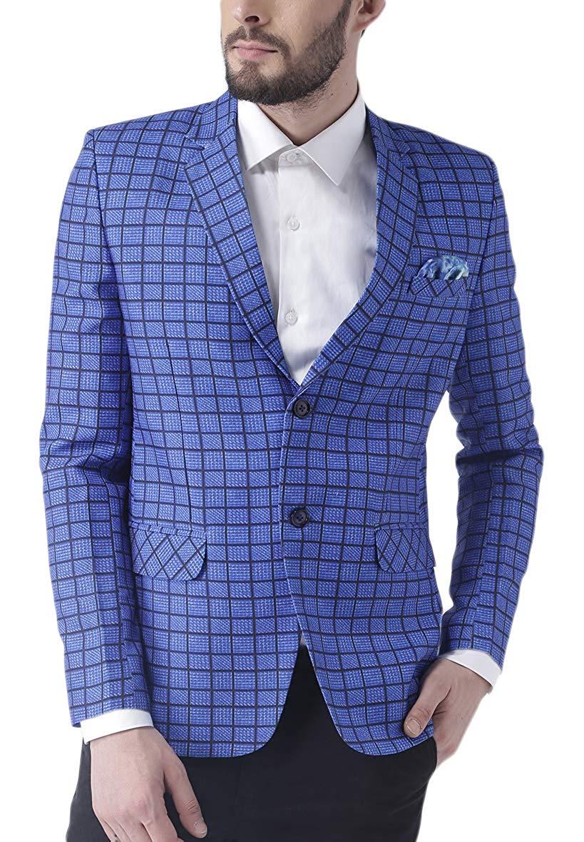 hangup Men's Regular Fit Blazer
