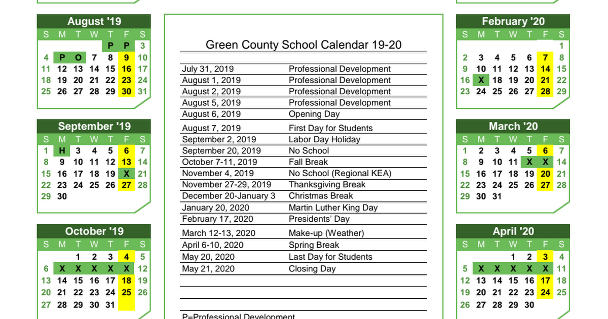 October 21 2020 Calendar 2019 2020 School Calendar.pdf   Google Drive