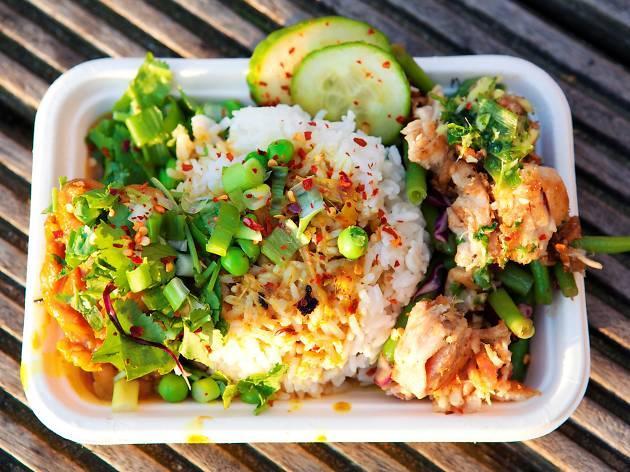 best street food in london, bbq dreamz