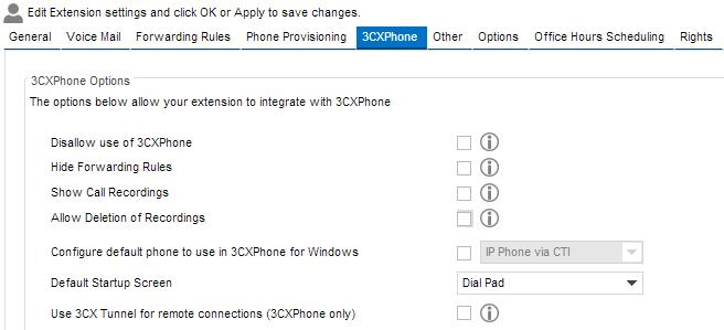 Setting up 3CX SoftPhone - Knowledgebase - CloudPhoneSystem Net