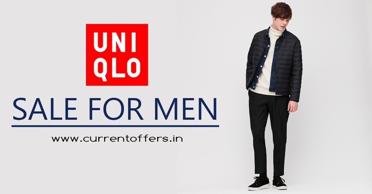 offer for gentlemen | currentoffers.in | uniqlo.com