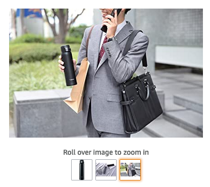 Amazon has as many images as available on each product