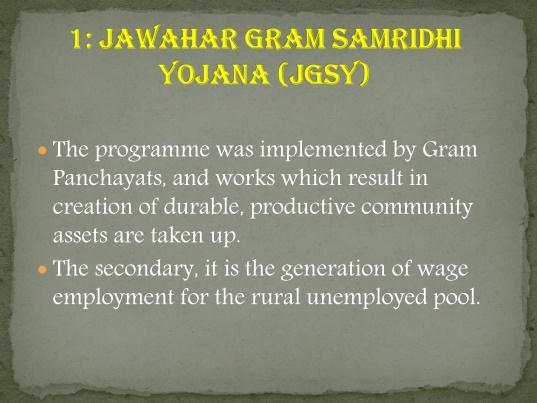 Image result for gram samridhi yojana