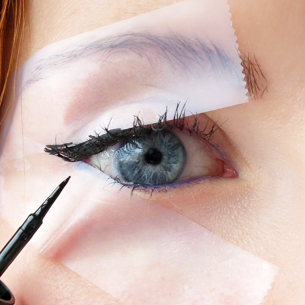 3. Scotch Tape Eye Liner