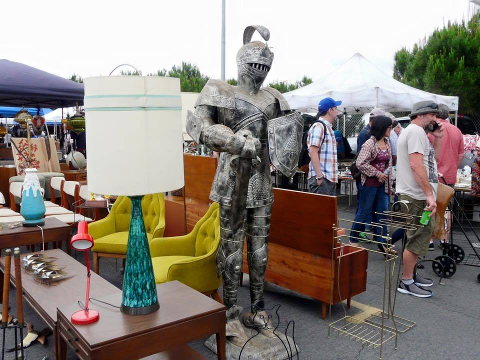 Long Beach Antique Market vendor