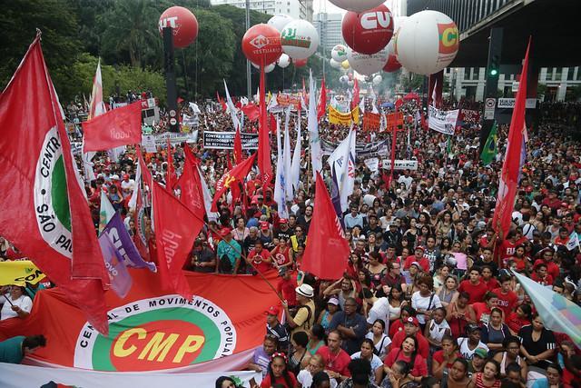 Resultado de imagem para Cartaz do 1º de maio unificado em Goiânia em 2019