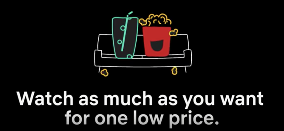 Netflix subscriber digital display ad