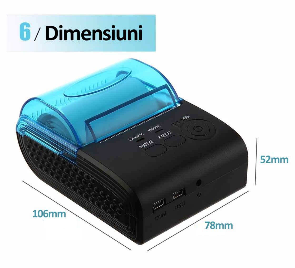 Imprimanta termica ZJ 5805-7