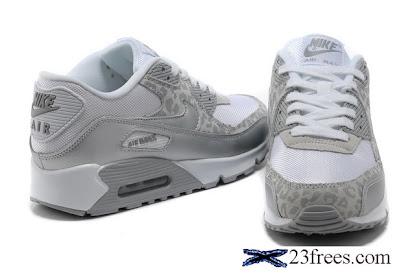 e9e91f230cb96 Nike Air Max 90 Womens Leopard Print White Silver 5004