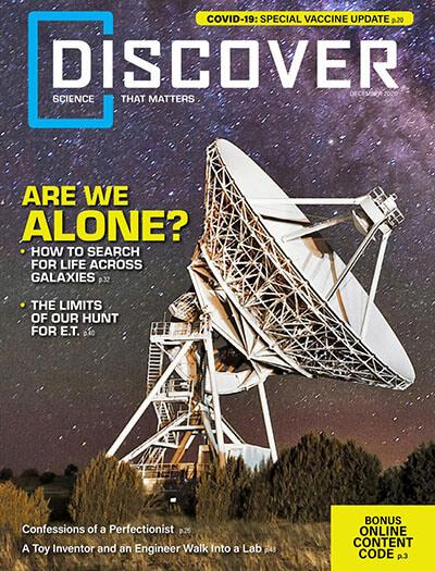Latest issue of Discover