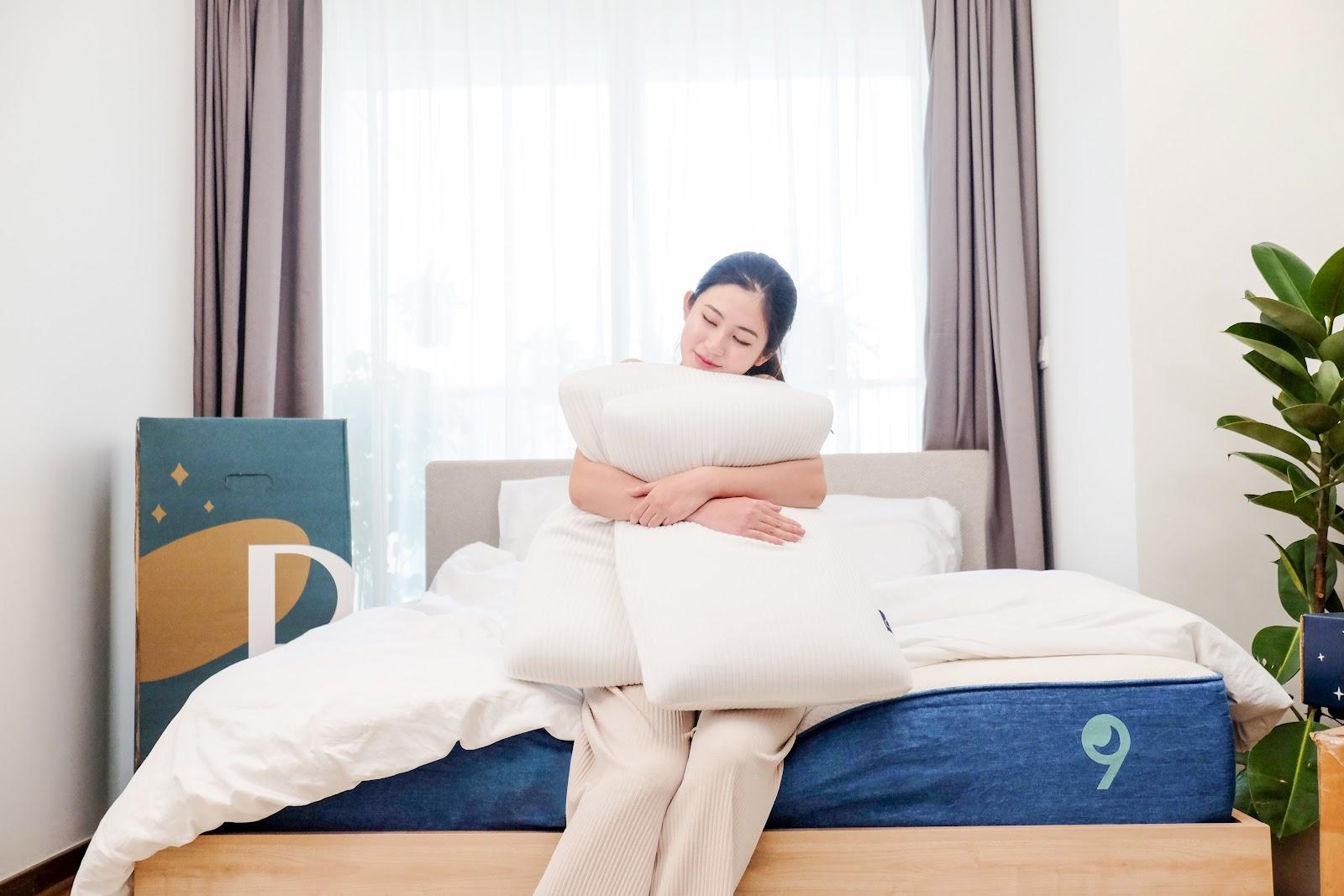gối ngủ ngon với độ cao kích thước gối lý tưởng