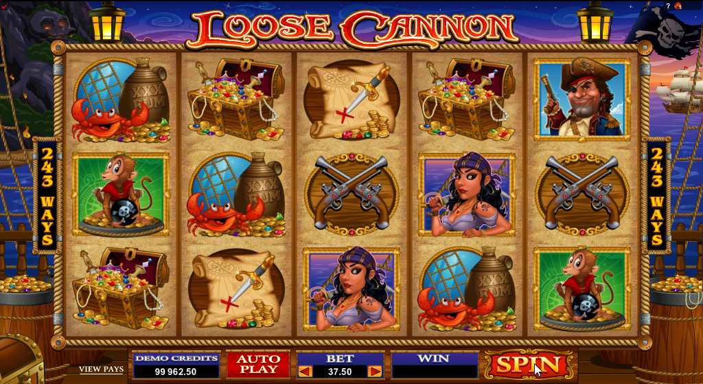 Loose Cannon Slots Game Review