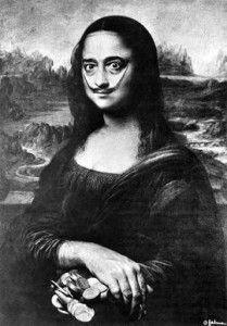Famosas imitaciones de la Mona Lisa de Dalí