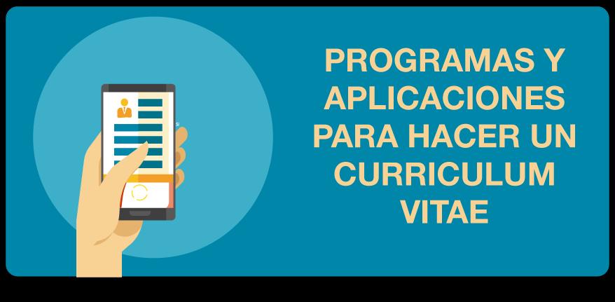 programas para hacer curriculum