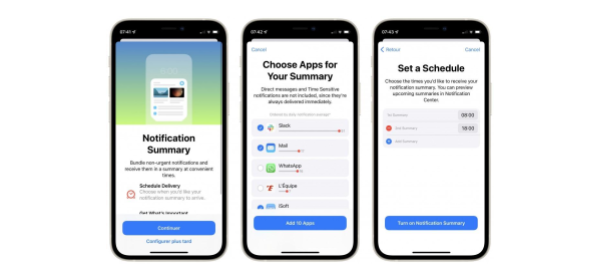 iOS 15 Key Features for Marketers: Notification Summary and Schedules