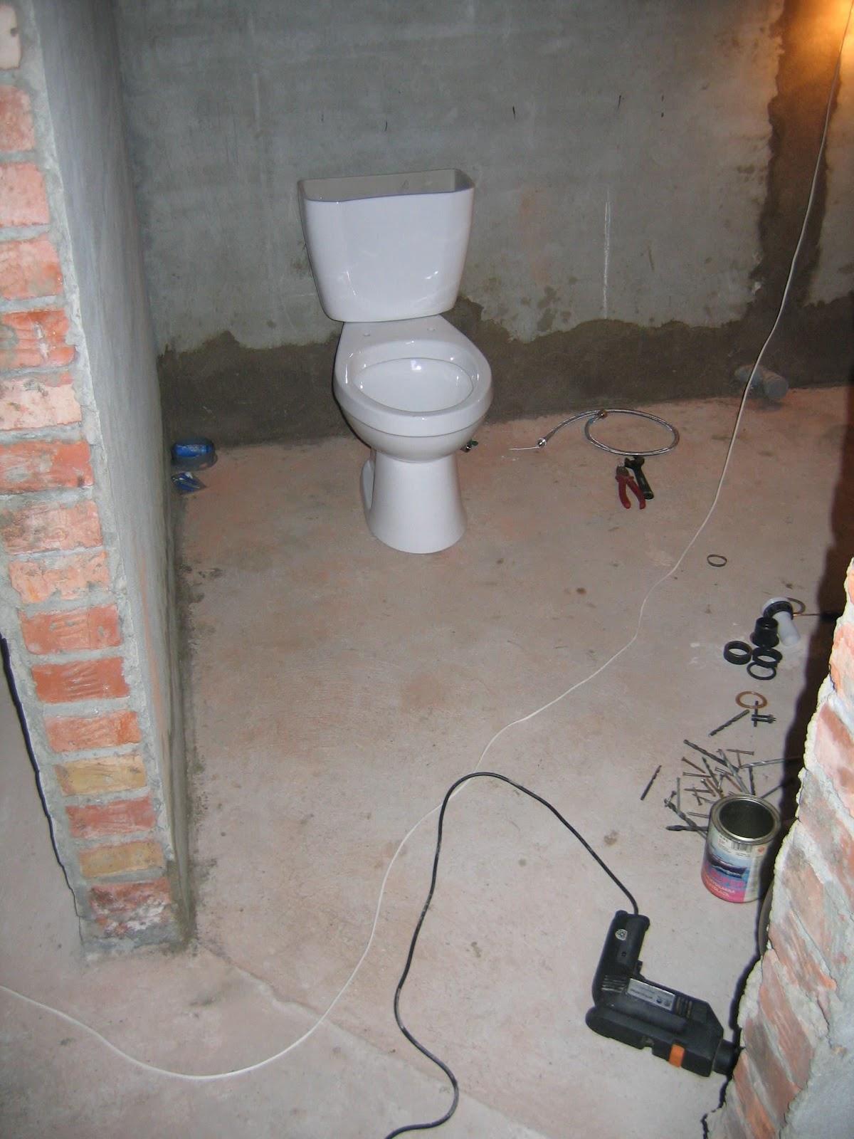 ремонт туалета коттеджа