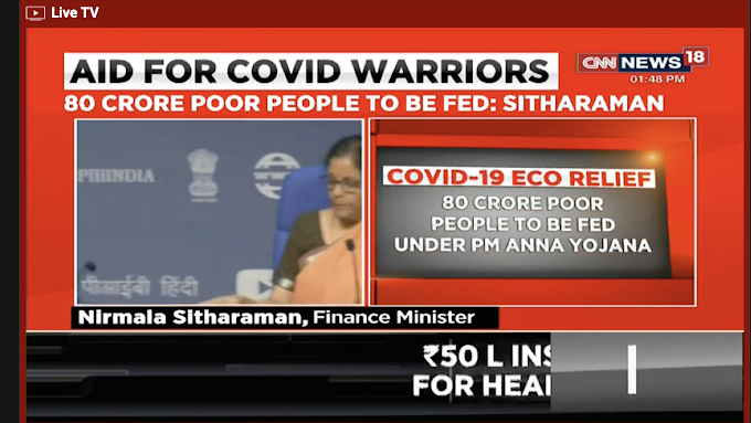 Details of the economic stimulus package for battling coronavirus times from FM Nirmala Sitharaman & BJP - India fighting COVID-19