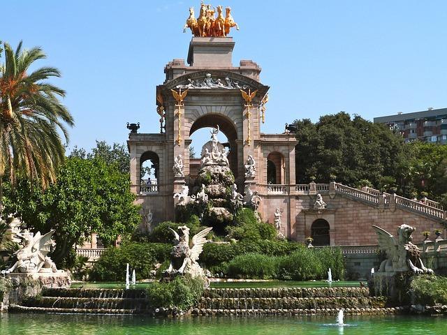 Cascada del parque de la Ciutadella