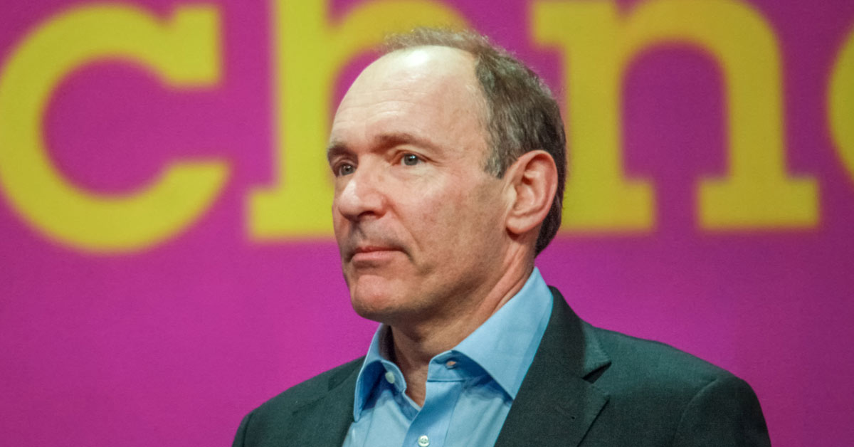 Tim Berners-Lee is a computer scientist and the inventor of the World Wide Web