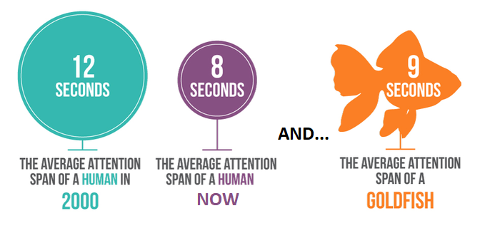 How declining attention spans impact your social media