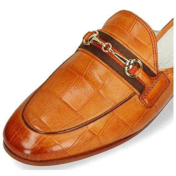 Saffiano leather shoes