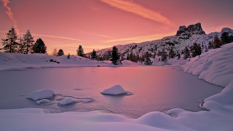 Las mejores fotograf as del mundo paisajes nevados son - Paisajes nevados para pintar ...