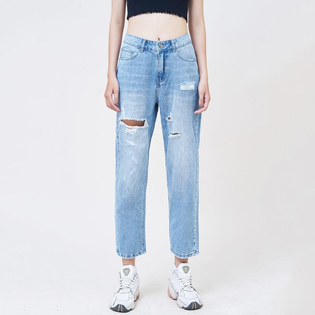 Lựa chọn quần baggy jeans nữ giúp bạn làm mới bản thân cực ấn tượng