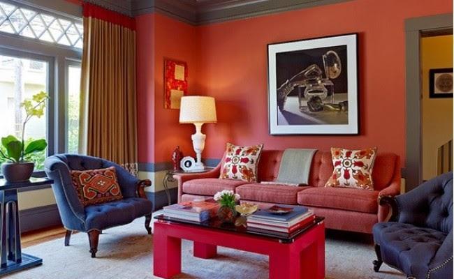 warna cat ruang tamu kecil agar terlihat luas dan bagus