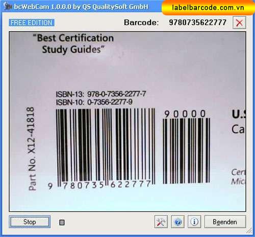 phần mềm quét mã vạch sản phẩm online